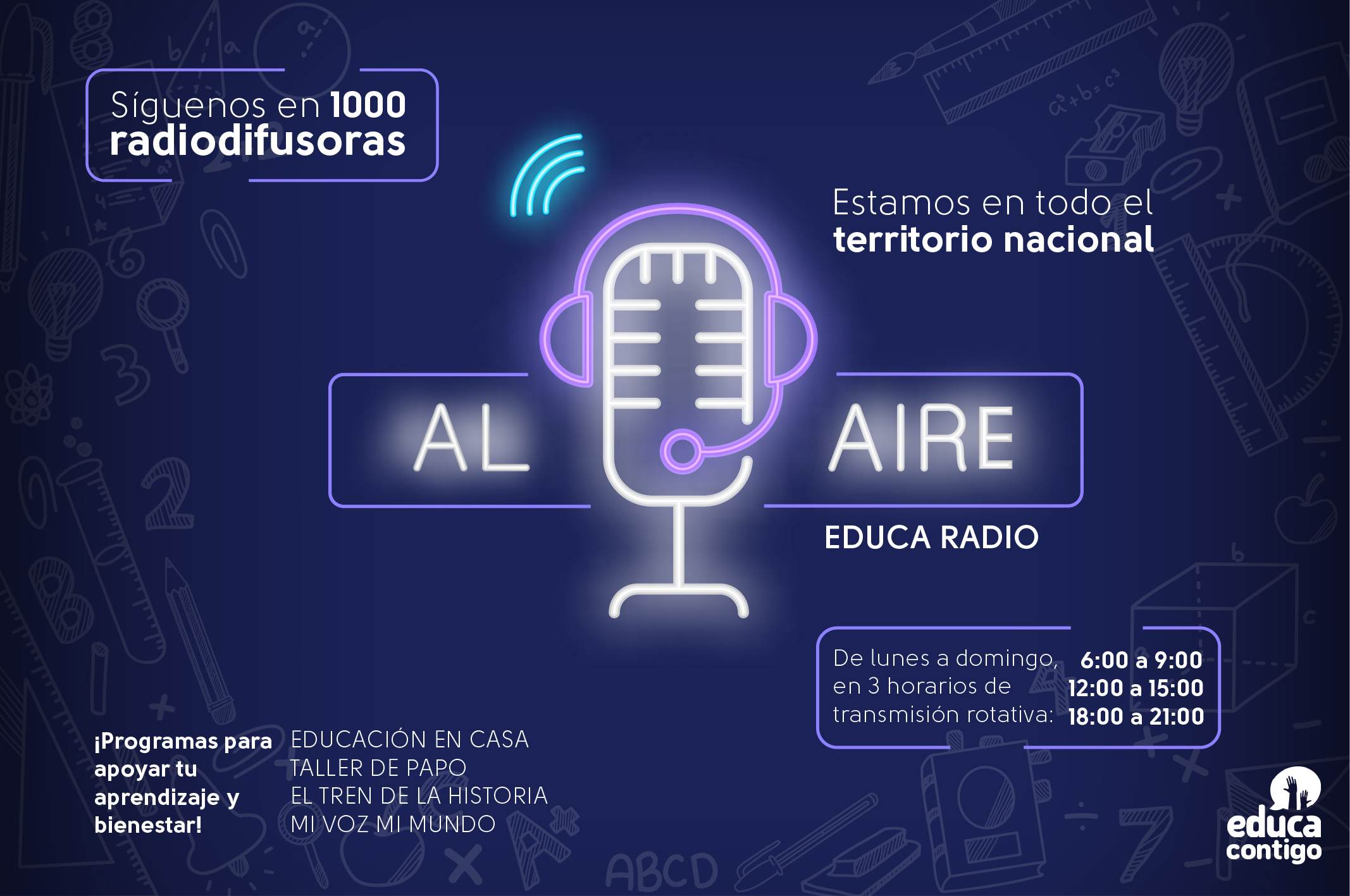 DOMINGO AUDIO CLASES (Tarde)